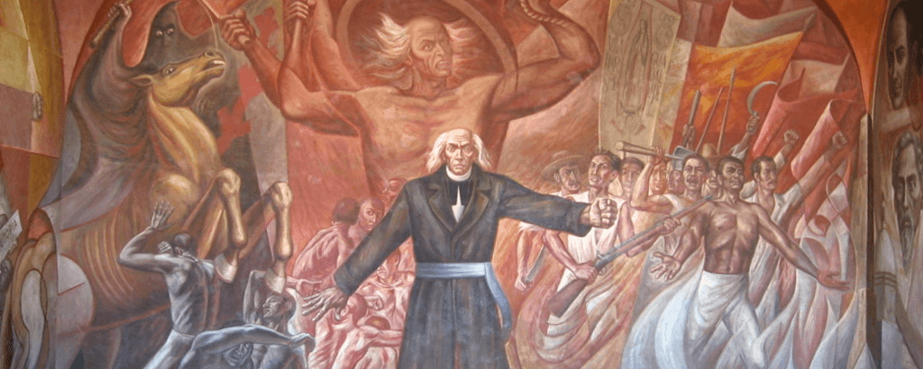Miguel HIdalgo of the 15th of September in Mexico