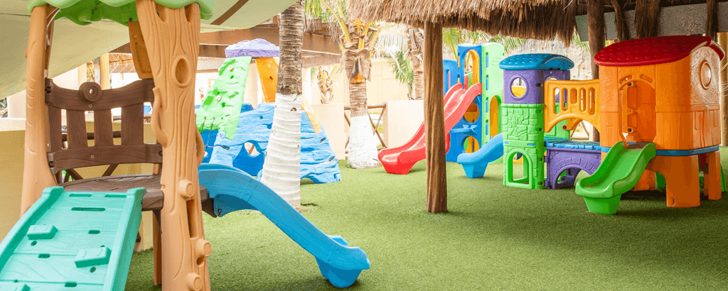 Kids Club Game Areas at the Solaris Resorts
