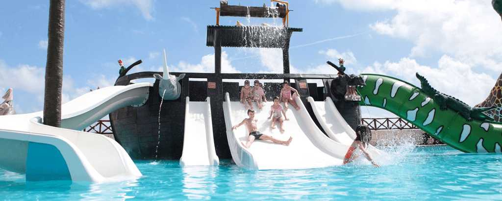 Water Parks at the Solaris Resorts